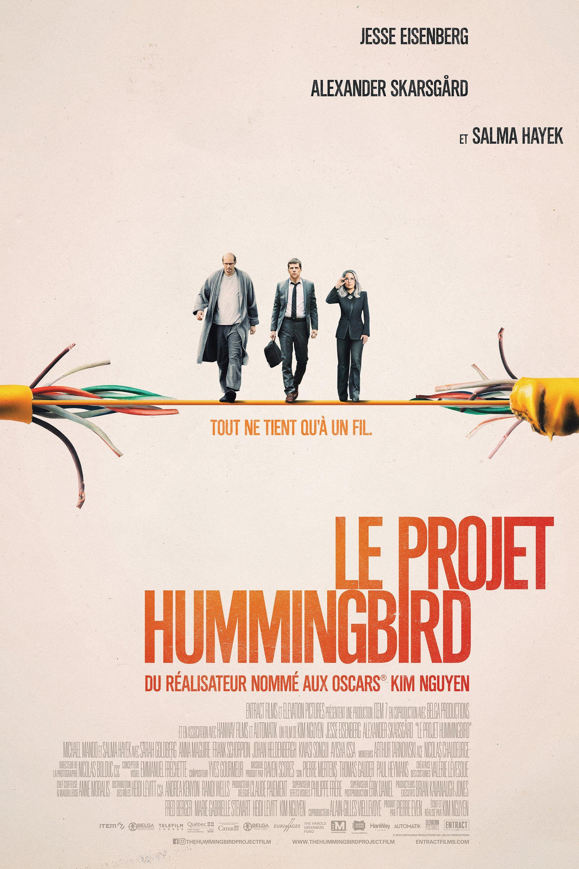 The Hummingbird Project - Film (2019) - SensCritique
