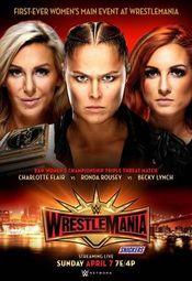 Affiche WrestleMania 35