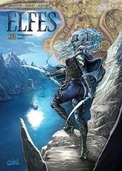 Couverture Vengeance noire - Elfes, tome 25