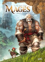 Couverture Aldoran - Mages, tome 1