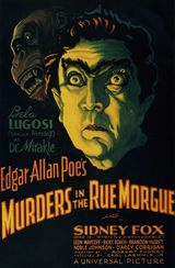 Affiche Double Assassinat dans la rue Morgue