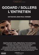Affiche Godard/Sollers: L'entretien