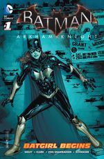 Couverture Batman: Arkham Knight - Batgirl