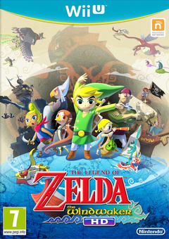 Jaquette The Legend of Zelda : The Wind Waker HD