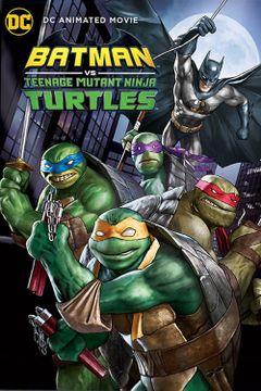 Affiche Batman et les Tortues Ninja