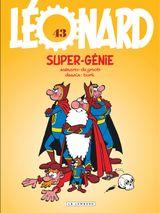 Couverture Super-génie - Léonard, tome 43