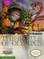 Jaquette The Battle of Olympus