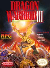 Jaquette Dragon Warrior III
