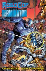 Couverture Robocop versus The Terminator