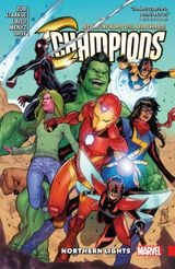 Couverture Northern Lights - Champions (2016), tome 4