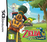 Jaquette The Legend of Zelda : Spirit Tracks