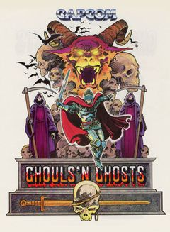 Jaquette Ghouls'n Ghosts