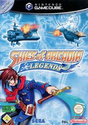 Jaquette Skies of Arcadia Legends