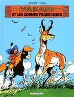 Couverture Yakari et les Cornes fourchues - Yakari, tome 23