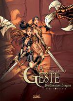 Couverture Akanah - La Geste des chevaliers dragons, tome 2