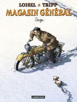 Couverture Serge - Magasin général, tome 2