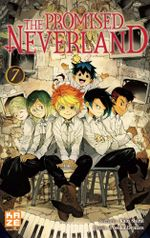 Couverture The Promised Neverland, tome 7