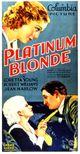 Affiche La Blonde platine