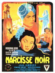 Affiche Le Narcisse noir