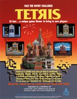 Jaquette Tetris : The Soviet Mind Game