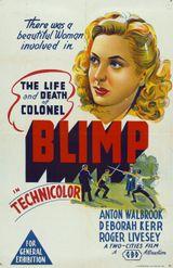 Affiche Le Colonel Blimp
