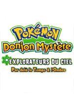 Affiche Pokémon Donjon Mystère 3 : Explorateur du Ciel, par delà du temps et de l'ombre