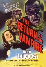 Affiche The Return of the Vampire