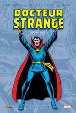 Couverture 1969-1973 - Docteur Strange : L'Intégrale, tome 4