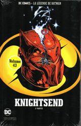 Couverture Batman : Knightsend (2ème partie) - DC Comics - La légende de Batman tome 43