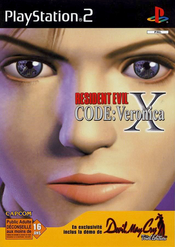 Jaquette Resident Evil: Code Veronica X