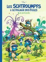 Couverture La Forêt interdite - Les Schtroumpfs & le village des filles, tome 1