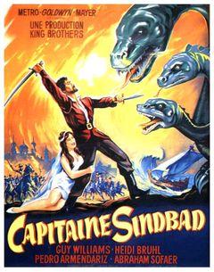 Affiche Capitaine Sindbad