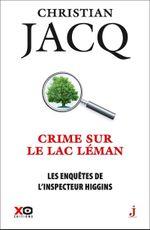 Couverture Crime sur le lac Léman
