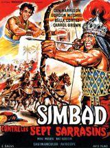 Affiche Simbad contre les Sept Sarrasins