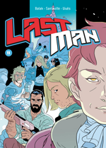 Couverture Lastman, tome 11