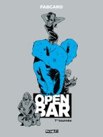 Couverture Open bar : 1re tournée