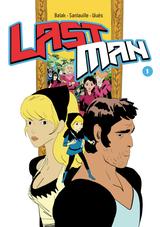 Couverture Lastman, tome 1