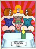 Affiche Sindbad