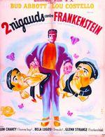 Affiche Deux nigauds contre Frankenstein