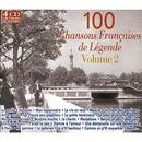 Pochette 100 Chansons françaises de légende, Volume 2