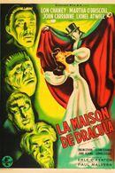 Affiche La Maison de Dracula