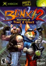 Jaquette Blinx 2 : Masters of Time & Space
