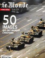 Couverture Le Monde - 63H - 50 images qui ont marqué l'Histoire