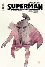 Couverture Homme D'acier - Clark Kent : Superman, tome 0