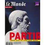 Couverture Le Monde - HS 53H - Partir