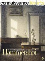 Couverture Connaissance des Arts - Hammershoi