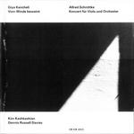 Pochette Kancheli: Vom Winde beweint / Schnittke: Konzert für Viola und Orchester