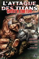 Couverture L'Attaque des Titans : Before the Fall, tome 7