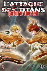 Couverture L'Attaque des Titans : Before the Fall, tome 9