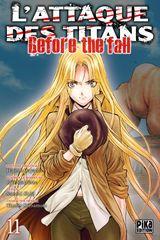 Couverture L'Attaque des Titans : Before the Fall, tome 11